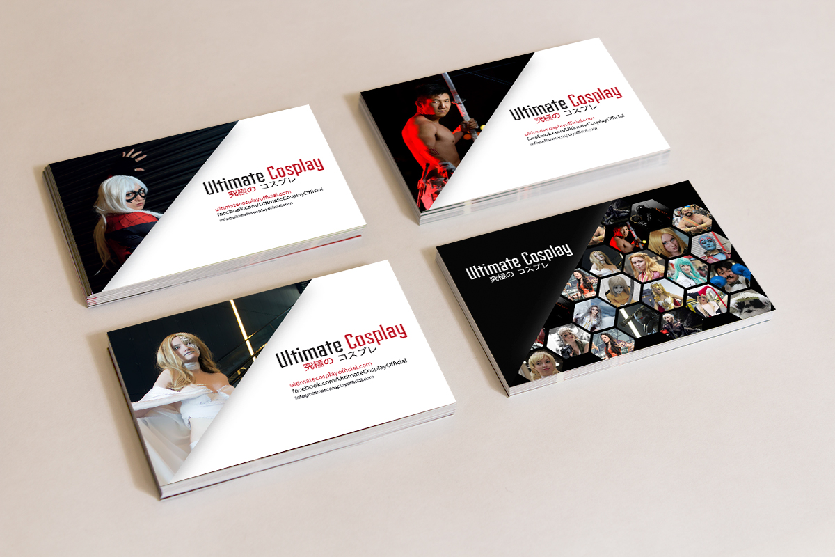 Ultimate Cosplay business cards