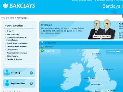 Barclays Intranet