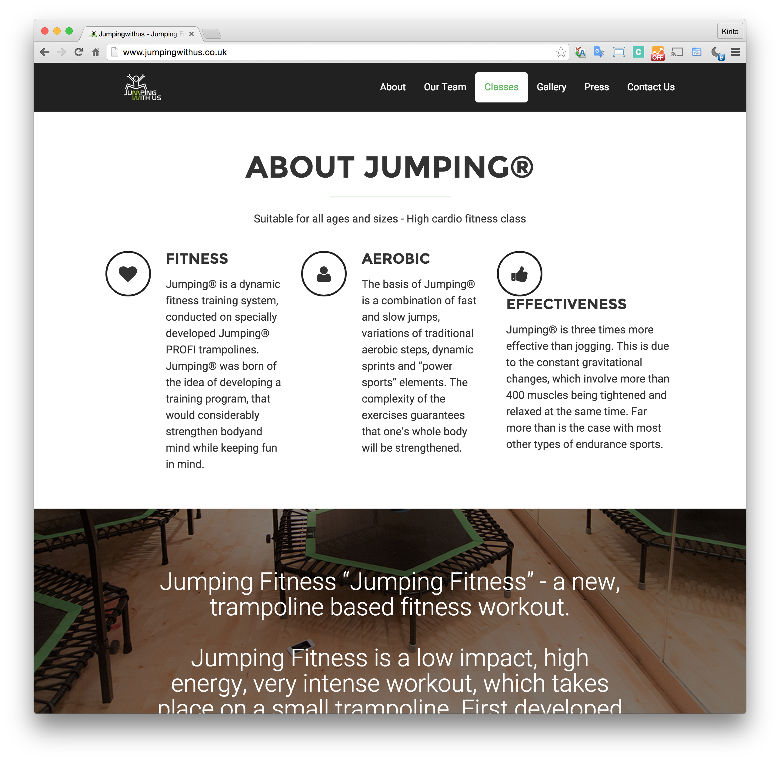 About Jumpingwithus